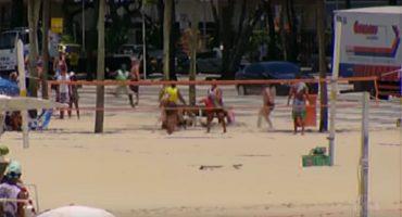 Persecución del siglo: Así le fue a un ladrón en las playas de Brasil
