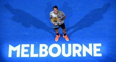 Las mejores imágenes de la final en Australia entre Federer y Nadal