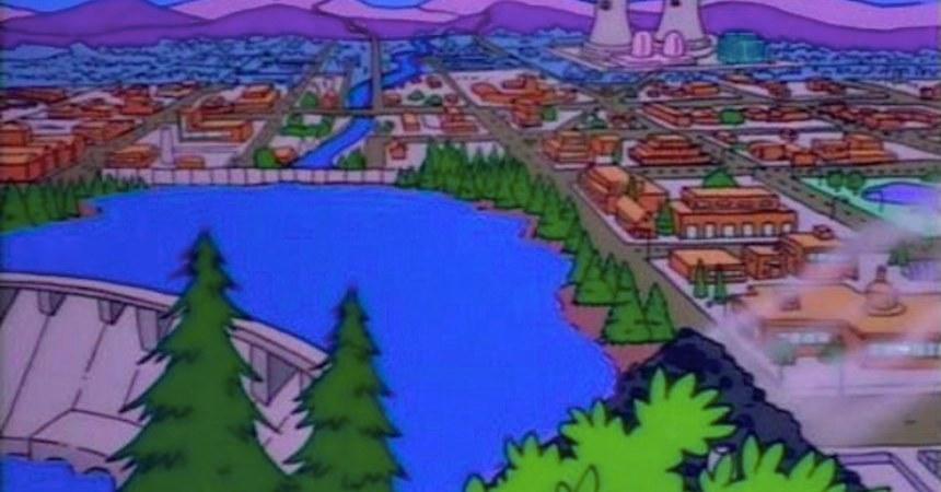 Los Simpson - Escenarios