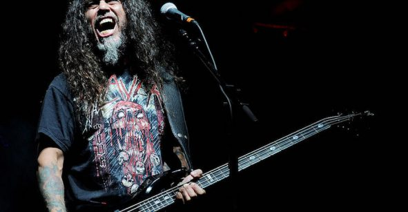 Tom Araya de Slayer.