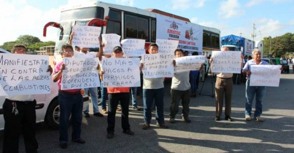SCT quitará permisos a transportistas que hagan bloqueos;