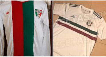 Filtran posible nueva camiseta del Tri (ya era hora)