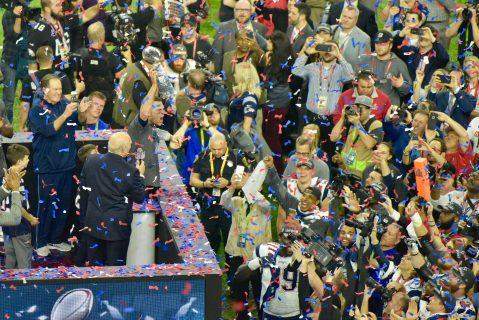 Tom Brady fue nombrado el MVP del partido