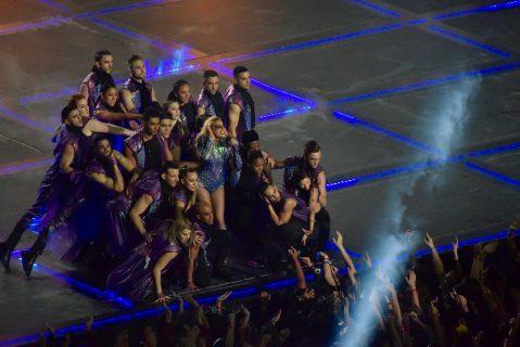 Lady Gaga dio un gran espectáculo en el show de medio tiempo del SB LI