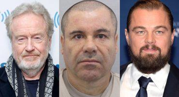 Ridley Scott hará película sobre el Chapo Guzmán...¡con Leonardo Di Caprio!