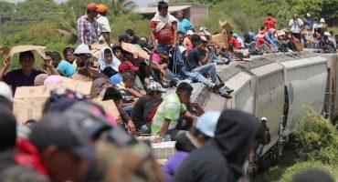 Entre la bola: Centroamericanos deportados en México