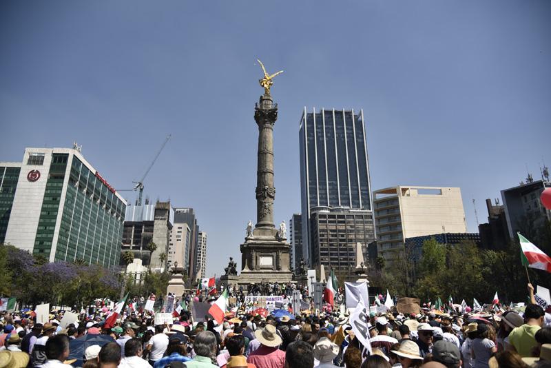 Estas son algunas lecturas sobre la marcha #VibraMéxico