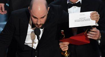 ¿La La Land o Moonlight? El Epic Fail más grande en la historia del Oscar