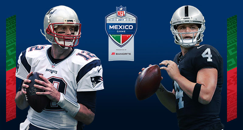 OFICIAL  La NFL regresa a México con el Raiders vs Patriotas bb6eb07c032