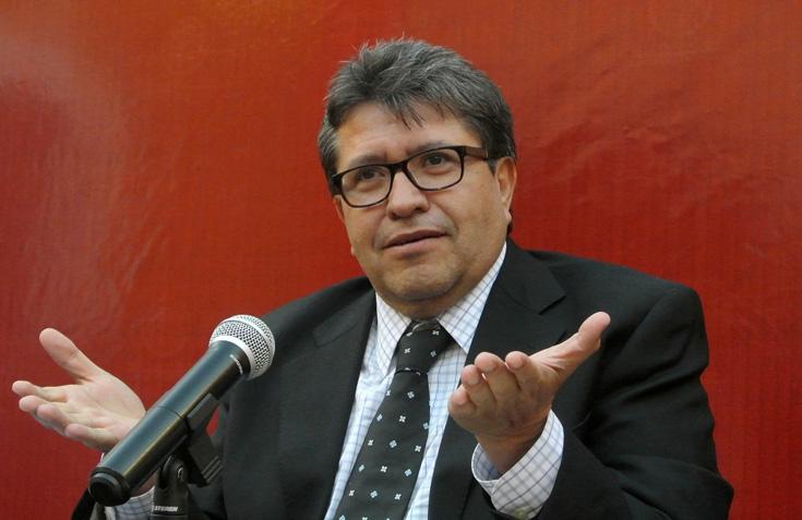 Ricardo Monreal, militante de Morena