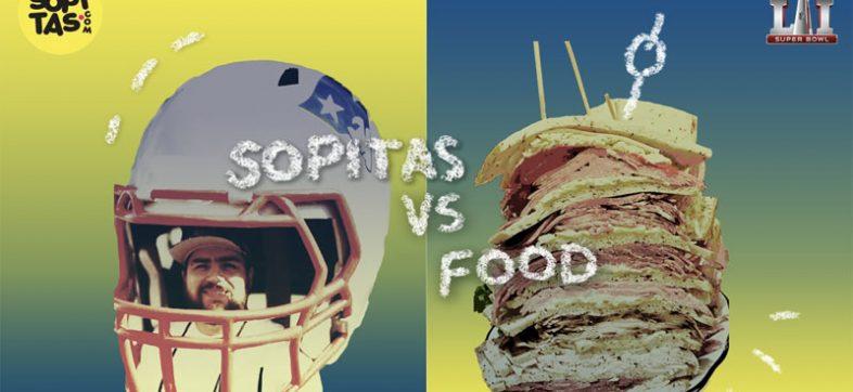 Sopitas vs Food Super Bowl LI