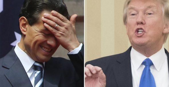 Teléfono descompuesto: las versiones sobre la llamada entre Trump y Peña Nieto