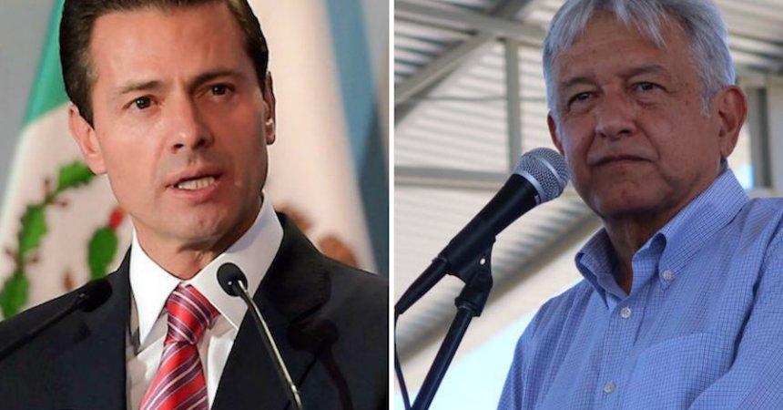 Peña Nieto y Andrés Manuel López Obrador