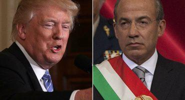 Trump atenta contra el libre comercio y es hostil con México: Calderón