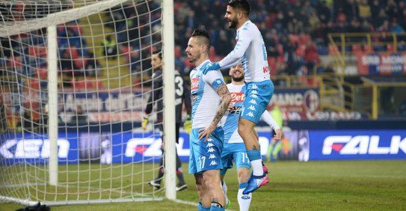 Imperdible: los siete goles con los que el Napoli aplastó al Bologna