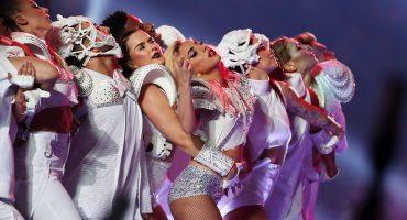 Galería: el show del medio tiempo de Lady Gaga en imágenes