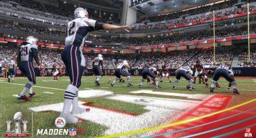 La predicción del Madden 17 para el Super Bowl LI