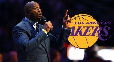 ¡Magic Johnson regresa con Los Angeles Lakers!