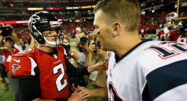 Matt Ryan nunca le ha ganado a los Patriots