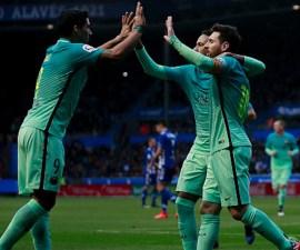 Lionel Messi, Neymar y Luis Suárez