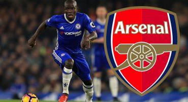 Kanté pudo ser dos veces del Arsenal... pero ya se imaginarán por qué no