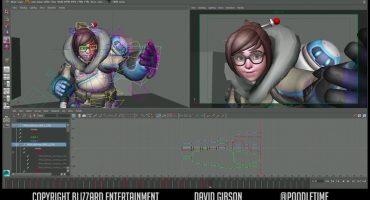 Este es el arduo proceso para poder animar a un personaje de Overwatch