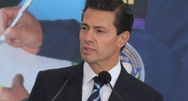 No te vayas hasta noviembre: Peña Nieto a Carstens