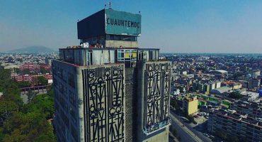 Retna interviene el paisaje de  Tlatelolco