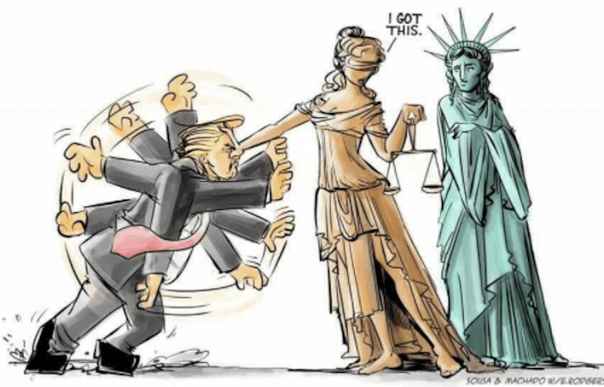 Trump Caricaturas
