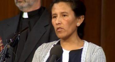 Mexicana refugiada en iglesia para no ser deportada, entre