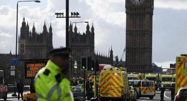 Cinco muertos y 20 heridos en ataque al Parlamento Británico
