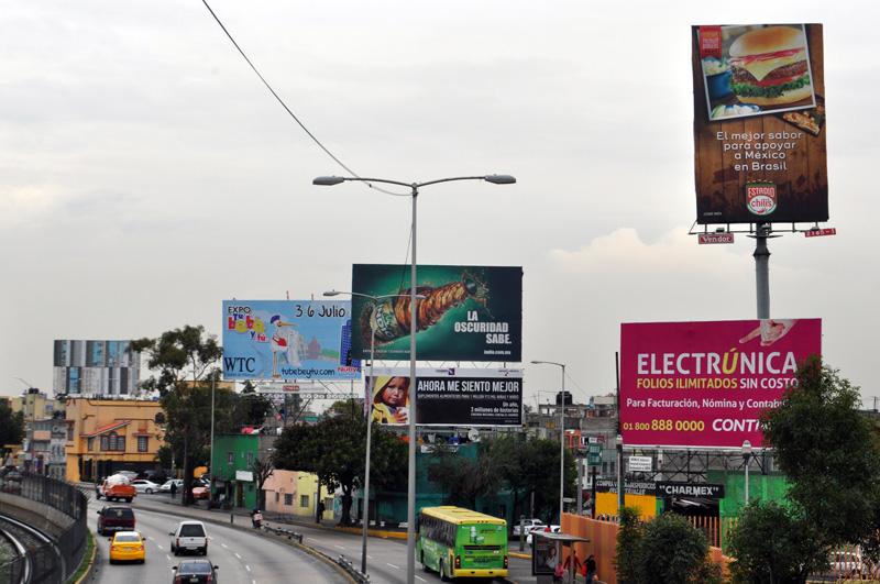 Anuncios Espectaculares en la Ciudad de México