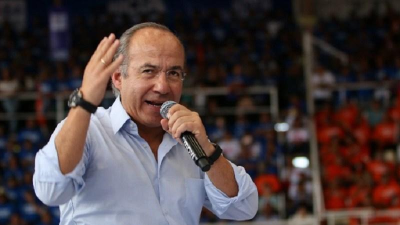 El expresidente de México, Felipe Calderón