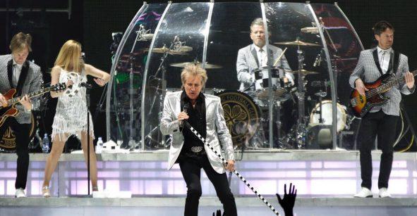 Rod Stewart en la CDMX: un show pambolero para la