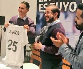 Presentación de Adolfo Ríos como presidente estatal del PES en Querétaro