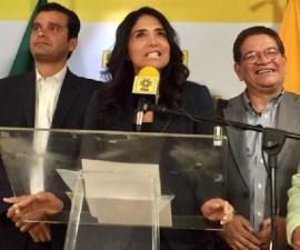 Alejandra Barrales, líder nacional/senadora perredista