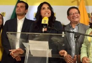 """Alejandra Barrales """"dobletea"""": ahora es senadora y líder nacional del PRD"""