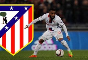 Alexandre Lacazette ¿sustituto de Griezmann en el Atlético de Madrid?
