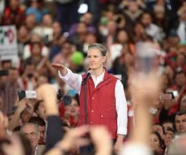 Toma de protestas del candidato del PRI a la gubernatura del Edomex, Alfredo del Mazo Maza