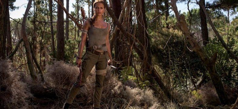 Alicia Vikander como Lara Croft en la nueva película de Tomb Raider