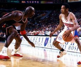 Allen Iverson contra Michael Jordan