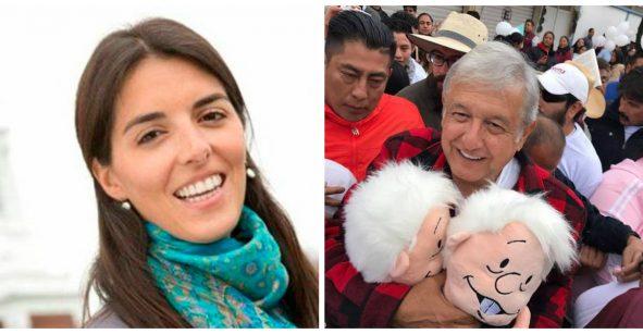 El cinismo de la clase política: Paloma Merodio y AMLO