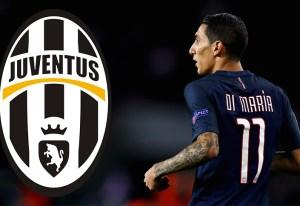 Si Juventus elimina al Barcelona, van por Ángel Di María