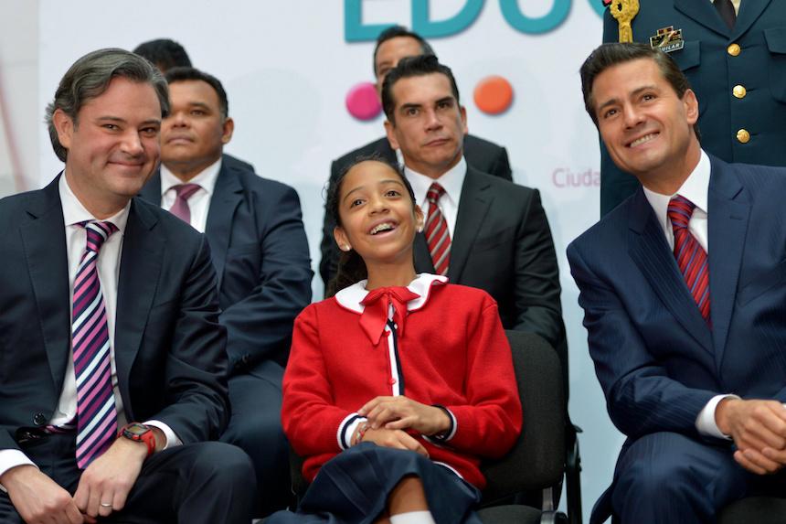 El presidente Enrique Peña Nieto y Aurelio Nuño presentan el nuevo modelo educativo