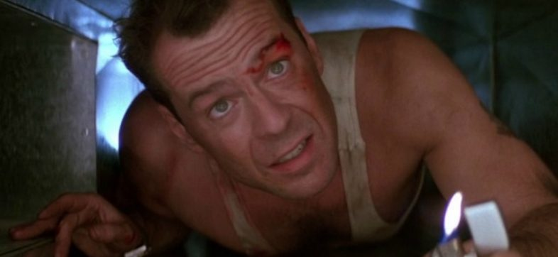 Bruce Willis en Die Hard