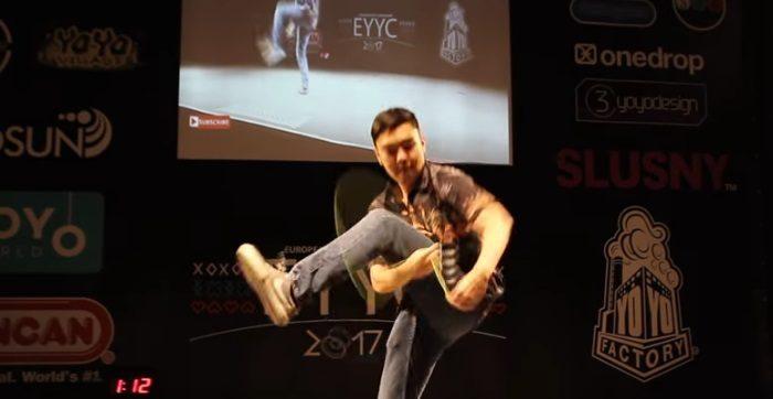 Evan Nagao, campeón europeo de yo-yo