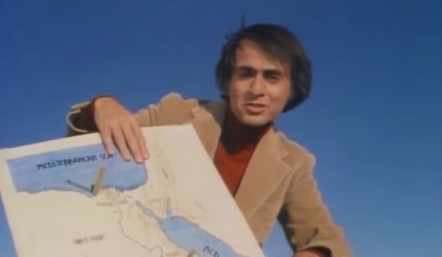 Carl Sagan - Eratóstenes