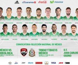 Convocatoria de la Selección Mexicana