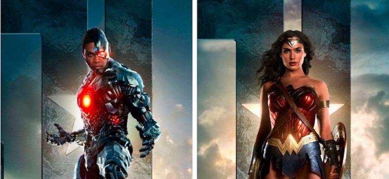 Cyborg y Wonder Woman - Justice League