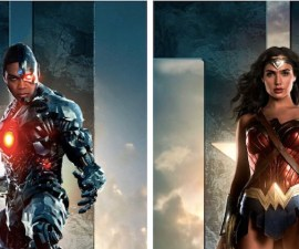 Cyborg y Wonder Woman - Justice League